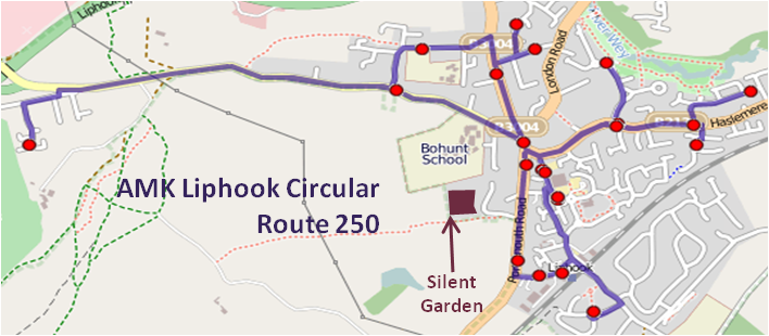 AMK250 route map