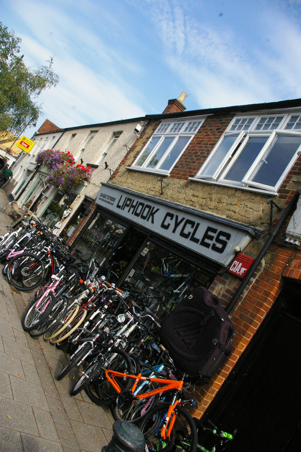 Liphook Cycles shop